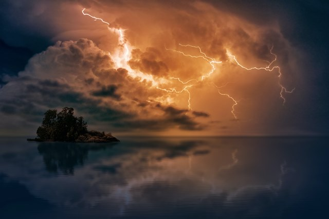 かっこいい 雷 画像