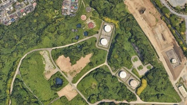 横浜市金沢区 巨大な穴 地図