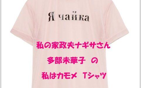 多部未華子のロゴTシャツ【私はカモメ&部屋着】のブランドは?私の家政夫ナギサさん5話