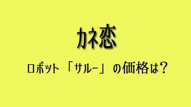 カネ恋 ロボット 価格