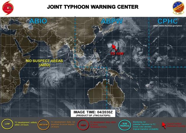 2020 台風14号 チャンホン 米軍