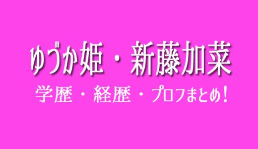 ゆづか姫(新藤加菜)は高学歴で英語がペラペラ!経歴も凄い!