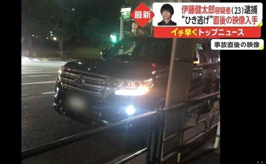 伊藤健太郎 愛車 ランクル 画像