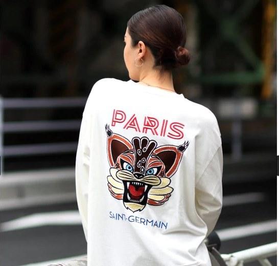 姉ちゃんの恋人 ロングTシャツ 有村架純 パリサンジェルマン