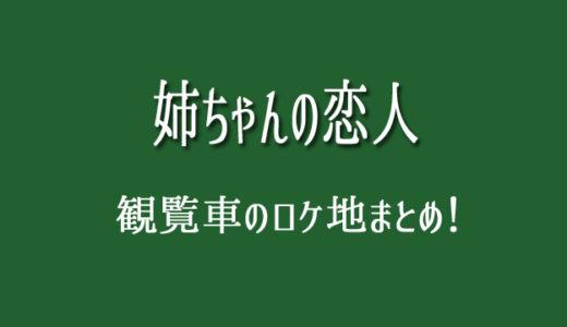 姉恋の観覧車のロケ地は葛西臨海公園!中学聖日記と同じと話題に!