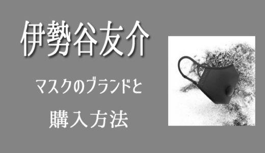 伊勢谷友介の初公判時のマスクのブランドはエリナム!購入方法は?