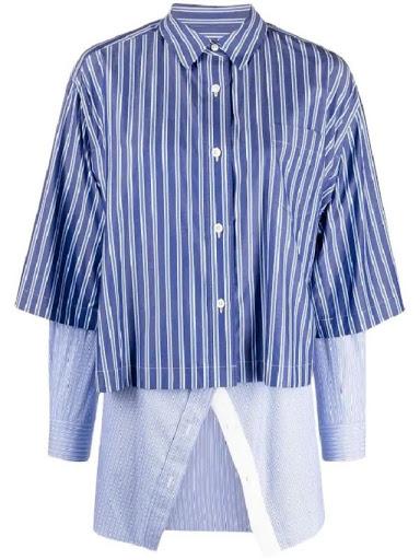 大豆田とわ子 松たか子 ストライプシャツ