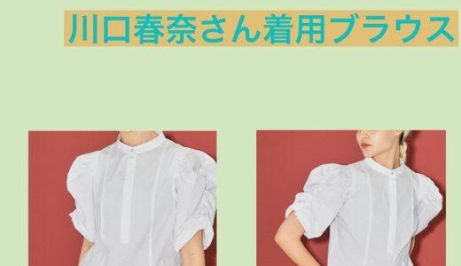 着飾る恋には理由があっての真柴(川口春奈)のブラウスのブランドは?