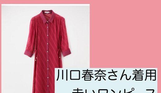 着飾る恋8話・川口春奈の赤いワンピースがかわいい!ブランドと価格は?