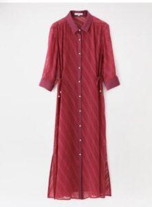 着飾る恋には理由があって 真柴 ドレス