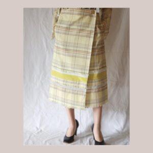 かのきれ 黄色 スカート