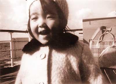 高市早苗 幼少期 3歳の頃