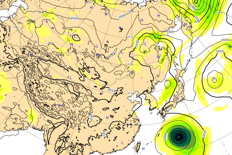 台風16号 ミンドゥル ヨーロッパ進路予想 2021年9月29日(水)