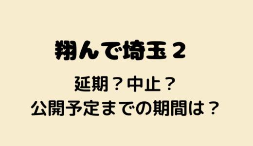 翔んで埼玉2は延期?中止?続編の公開予定はいつだった?