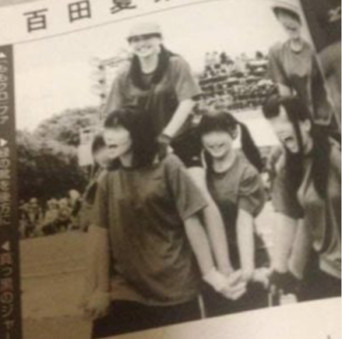 百田夏菜子 朝日奈央 騎馬戦 日出高校時代